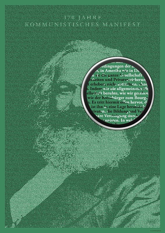 Kommunistisches Manifest Plakat